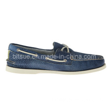 Hot Sale Fashion Flat Custom Moccasin Leather Boat Shoes