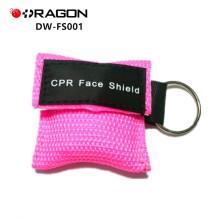 Máscara portátil do cpr do keychain de DW-FS001 EMS, protetor de cara do cpr