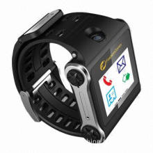 Handsfree GPS Camera Pedometer, Built-in Bluetooth Headset, Qualcomm Low-power Consumption Screen