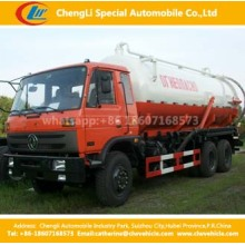 Dongfeng 6X4 245HP Fecal Sewage Suction Truck