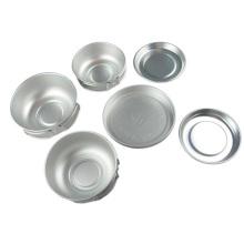 Caminhada Camping Alumínio Cookware Set (CL2C-DT1412-6)