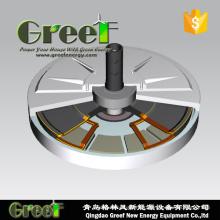 Générateur triphasé sans noyau de disque de 1kw 120rpm pour des ventes