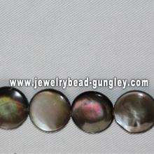 16mm ronde perles de coquillage de mer forme