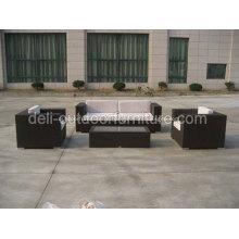 Conjuntos de sofá de KD móveis de lazer ao ar livre