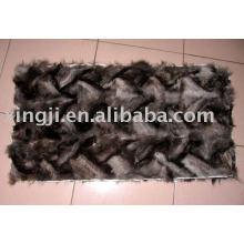 Серебряная лиса переднюю лапу мех плиты