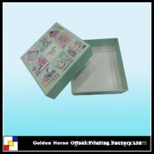 square gift packaging box with customized logo