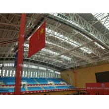 Vorgefertigte Stahlkonstruktion Rahmen Schwimmbad Dach