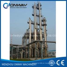 Jh Hihg eficiente precio de fábrica Acero inoxidable solvente Acetonitrilo Etanol Alcohol Distillery Equipos Distiller Alcohol Machine