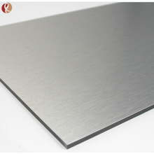 China supplier titanium alloy sheet price per kg in india