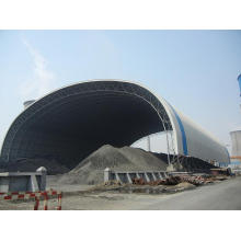 Space Frame Coal Shed Design