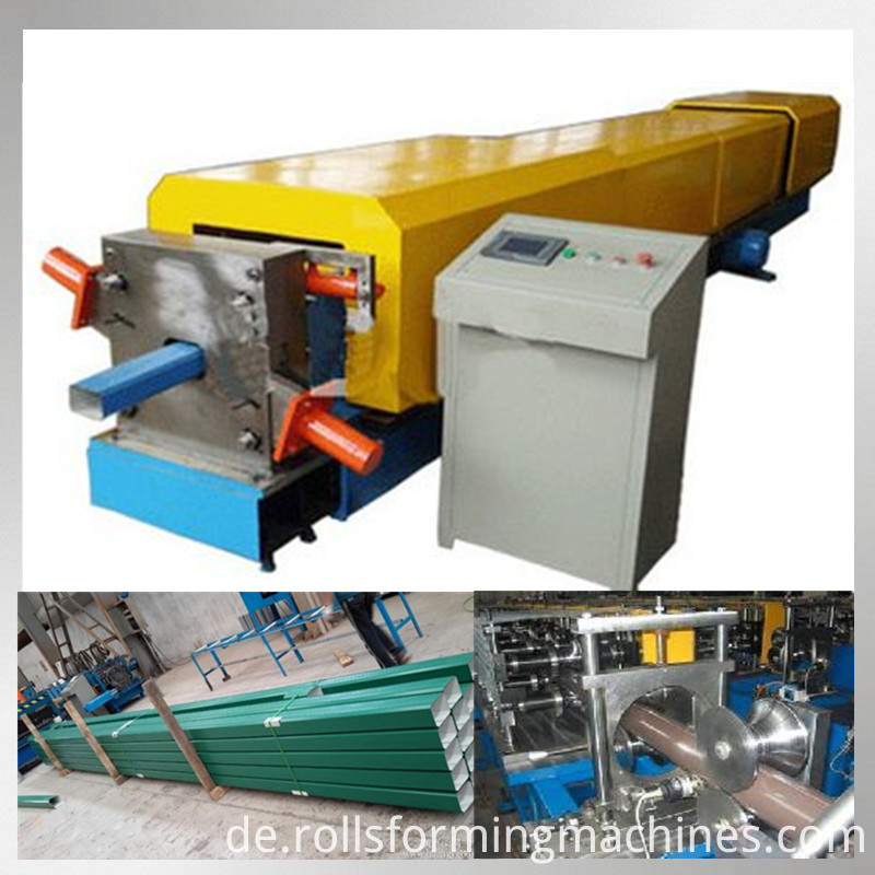 steel downspout making machine