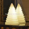Рождественские украшения светящийся башня светильник привело Рождественская елка украшения USB аккумуляторная используется закрытый/открытый