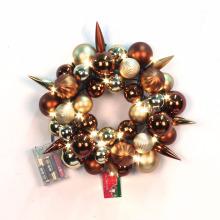Pre-iluminado Especial Navidad bolas tema Wreath