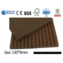 High Quality WPC Plank Decoration Board for Dustbin Fence Bench Decking with SGS ISO CE Fsc WPC Cladding WPC Wall Panel Wood Plastic Composite Plank Lhma033