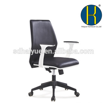 HY5201 Foshan Haiyue NEW Chair with White Wood Swivel Office Chair/Plywood Chair