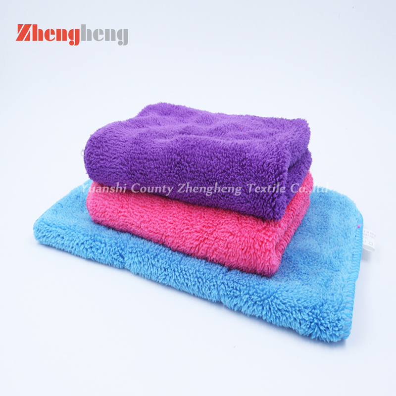Polyester Coral Fleece Towel (7)