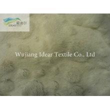 Tecido Plush PV para cobertor 053