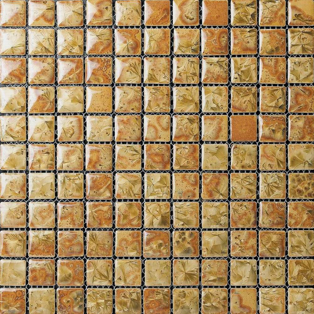 Beige Glaze Transforming Wall Paving Mosaic