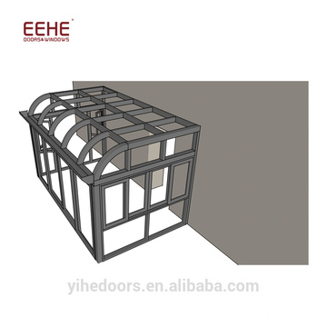 Thermal Break Winter Garden Glass Conservatory Sunroom