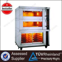 Horno industrial de la cocina del acero inoxidable de Guangzhou K304 para el pan usado