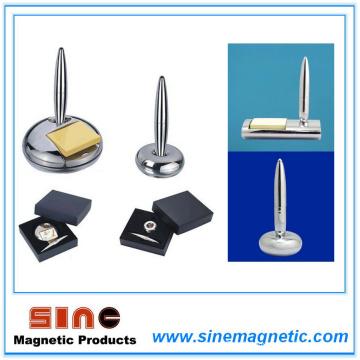 Stylo de levitation magnétique de luxe et de bureau Staionary Business