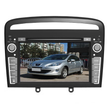 Reproductor de DVD del coche de Windows CE para 2013 Peugeot 408 (TS7366)