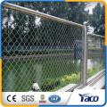Hengshui 60 * 60 mm 75 * 75mm 50 * 50mm galvanizado cerca da malha elo da cadeia fábrica