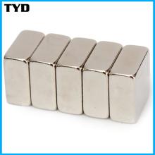 Permanente forte padrão Neodymium Block Magnet grau N42