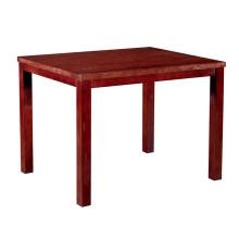 Table de salle à manger d'hôtel de table en bois