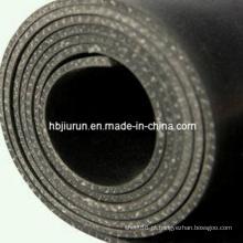 Folha de borracha de 10mm EPDM com inserção de pano