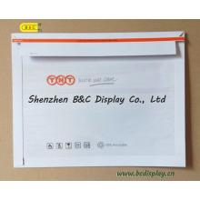 Barato con alta calidad TNT Courier Bags, Ppaer File Bag con SGS (B & C-J004)