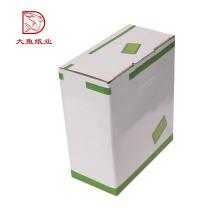 Usine OEM personnalisé imprimé pas cher prix ondulé carton boîte échantillon
