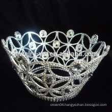 mini tiara rings crown shaped pageant tiara crown
