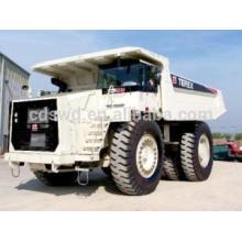 Terex que mina o caminhão basculante tr100 100ton for sale