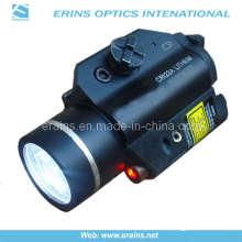 Strobe Function on Both Laser Sight Scope 225 Lumens LED Flashlight Combo (ES-XL-2LL-R)