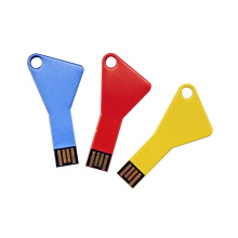 Cheap Key Shape Promotional Customized Logo Colorful USB Flash Pendrive