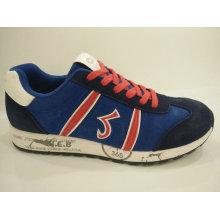 Herren Retro Blue Casual Sport Schuhe Schuhe
