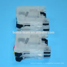 LC123 заправка картриджа для брата MFC J4510DW J4610DW J4710DW J4410DW струйный принтер
