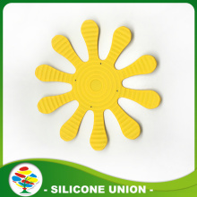Cheap Foldable Silicone Placemat With Flower Shape