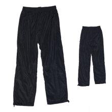 Custom Men's Sports Casual calças com tecido de poliéster