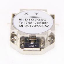 Venta caliente bajo pim alto aislamiento 746-768 mhz circulador de rf coaxial Drop In aislador