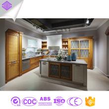 Placas de partícula Carcase Modular Kitchen Cabinets