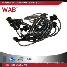 Car parts replacement spark plug wire assembly auto ignition wire set 90919-21547 for Toyota