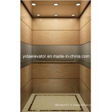 Ascenseur de passager de qualité avec acier inoxydable brossé