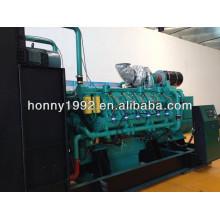 Generador de motores de combustible dual diesel y gas natural