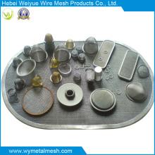 Treillis métallique d'armure d'acier inoxydable pour la maille de filtre