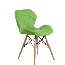 Wholesale cheap furniture luxury leather wood dining garden chair