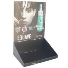 Caixa de exibição de papel para embalagem e exibição de mercado