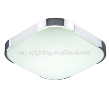 Silver 12w led ceiling lamp 6000K SMD5630 300*300mm size Aluminium frame Led Lights for dinning room bedroom kitchen
