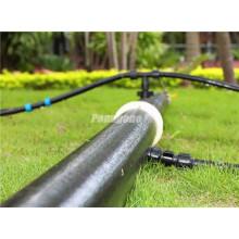 Tubo de irrigação por gotejamento de material plástico